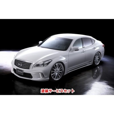◆色番号塗装サービス付◆ NISSAN FUGA Y51 Sports Line Black Bison Edition (H.21.11〜H.27.2) KIT PRICE (F,S,R)