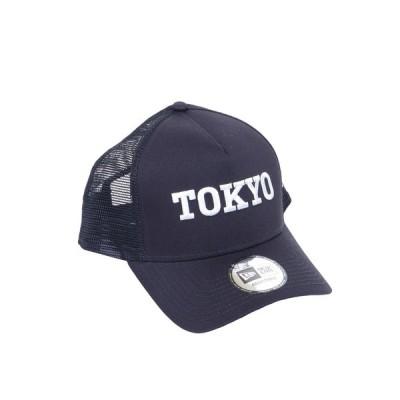 ニューエラ(NEW ERA) 9FORTY A-Frame トラッカー TOKYO ロゴキャップ 12533254 (メンズ)