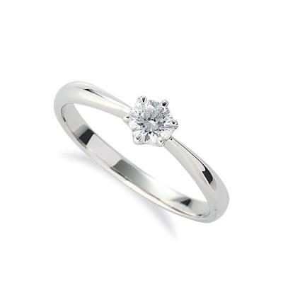 指輪 PT900 プラチナ 天然石 一粒リング 主石の直径約3.8mm ソリティア しぼり腕 六本爪留め|900pt 貴金属 ジュエリー レディース メンズ