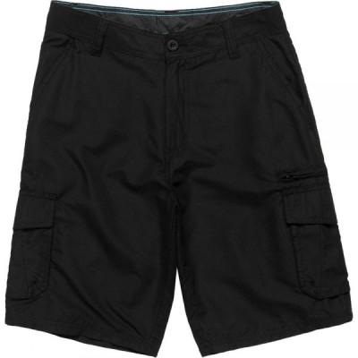 バーンサイド Burnside メンズ ショートパンツ カーゴ ボトムス・パンツ Traveler Cargo Short Black