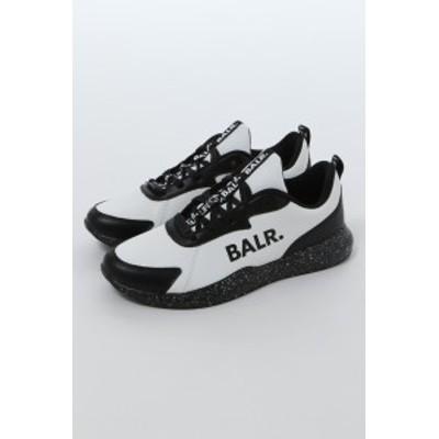 ボーラー BALR スニーカー ローカット シューズ 靴 BLACK WHITE FUTURE ブラック×ホワイト メンズ (B10164) 送料無料 2020年春夏新作