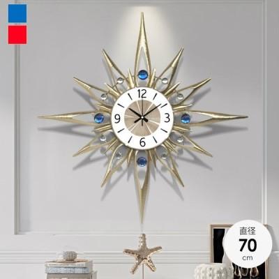 ウォールクロック クロック 時計 壁掛け時計 壁掛時計 掛け時計 おしゃれ インテリア壁掛け モダン 北欧 新築祝い 結婚祝い ギフト 静音 70cm