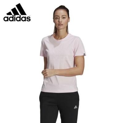 アディダス Tシャツ 半袖 レディース Outlined Floral グラフィック Tシャツ GL1033 28918 adidas