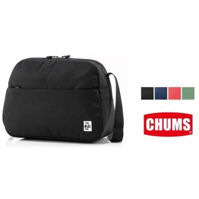 チャムス エコ トラペゾイドショルダー CHUMS ショルダーバッグ PC メンズ レディース CH60-2735/通勤/通学
