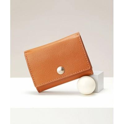 CRICKET/TOPKAPI / COLORATO[コロラート]角シボ型押し・三つ折りミニ財布 WOMEN 財布/小物 > 財布