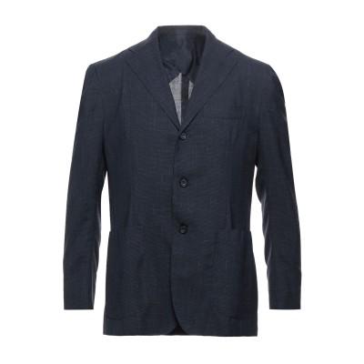 サルトリオ SARTORIO テーラードジャケット ダークブルー 50 バージンウール 91% / リネン 5% / シルク 4% テーラードジャケ