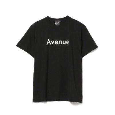【ビームス メン】 BEAMS T / Avenue Bounce Tee メンズ ブラック L BEAMS MEN