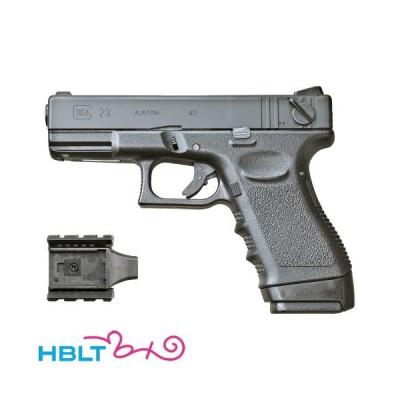 KSC グロック G23F スライドHW ブラック|A151(ガスブローバック本体)