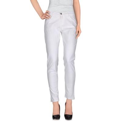 フォーティーウエフト 40WEFT パンツ ホワイト 40 コットン 98% / ポリウレタン 2% パンツ