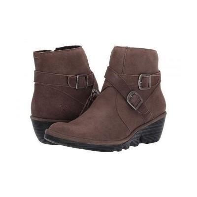FLY LONDON フライロンドン レディース 女性用 シューズ 靴 ブーツ アンクル ショートブーツ PERZ914FLY - Grey Ranch