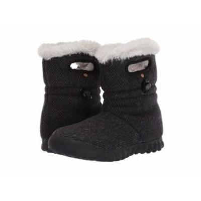 Bogs ボグス レディース 女性用 シューズ 靴 ブーツ スノーブーツ B-Moc Wool Black【送料無料】