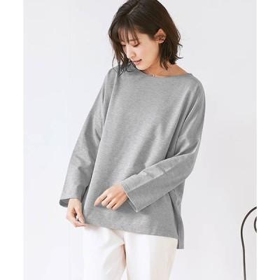 tシャツ Tシャツ ビックシルエット ミニ裏毛 スウェットプルオーバー