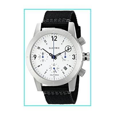 Electric Men's EW0020020015 FW02 Nato Band Analog Display Japanese Quartz Black Watch【並行輸入品】