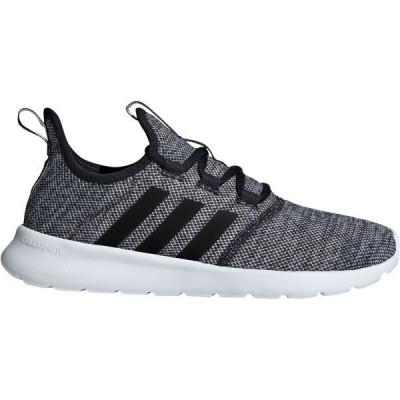 アディダス スニーカー シューズ レディース adidas Women's Cloudfoam Pure 2.0 Running Shoes Black/White