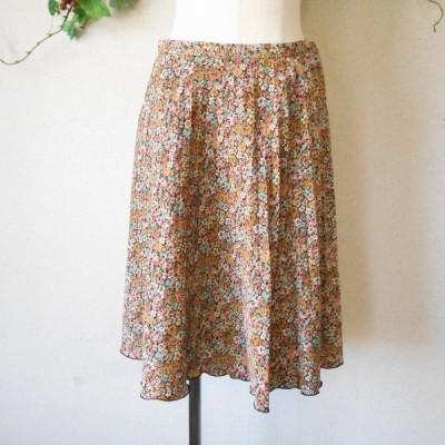 オリーブ デ オリーブ OLIVE des OLIVE 春夏 向き 小花 プリント の 可愛い スカート 日本製