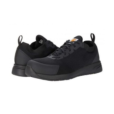 Carhartt カーハート メンズ 男性用 シューズ 靴 スニーカー 運動靴 Force Nano Composite Toe SD Work Shoe - Black Mesh/Synthetic