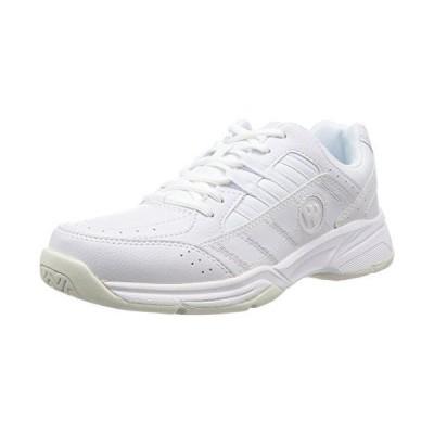 [ウィンブルドン] スニーカー 運動靴 通学靴 白 WM-4000 メンズ ホワイト 25.0 cm 4E