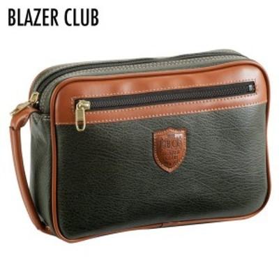 BLAZER CLUB ブレザークラブ セカンドバッグ メンズ カーキ 25367-2