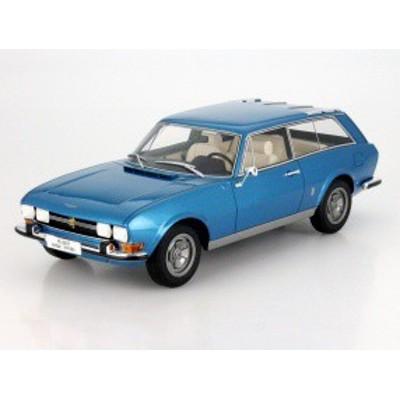 BOS Models 1:18 1971年モデル プジョー 504 ブレーク ブルー