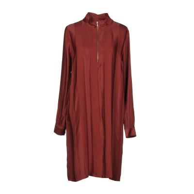 ジャスト・フィーメイル JUST FEMALE ミニワンピース&ドレス ココア M レーヨン 98% / コットン 2% ミニワンピース&ドレス