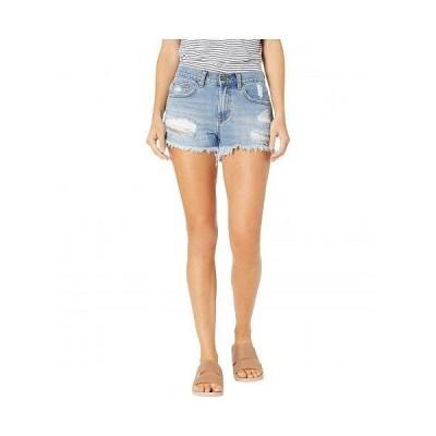 Billabong ビラボン レディース 女性用 ファッション ショートパンツ 短パン Drift Away Denim Shorts - Indigo Rinse