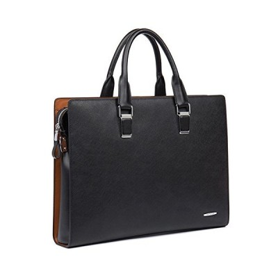 BOSTANTEN Leather Briefcase Shoulder Laptop Business Slim Bag for Men & Women【並行輸入品】