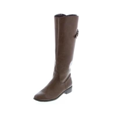 JELLY BEANS / バックレースクロスベルトロングブーツ(204-22615)JELLY BEANS(ジェリービーンズ) WOMEN シューズ > ブーツ
