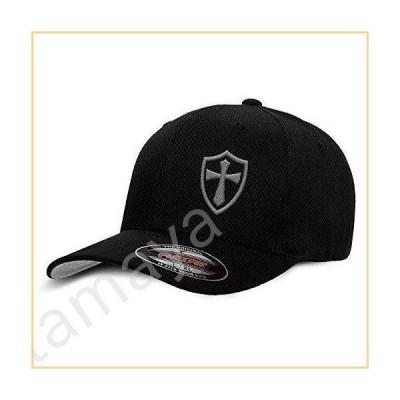 Crusader Knights Templar Cross野球帽子 カラー: ブラック