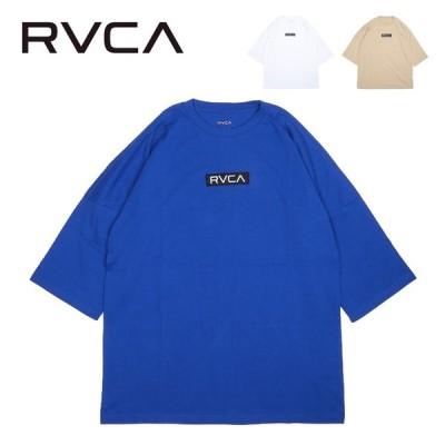 RVCA ルーカ ボックスロゴTシャツ BA041218 【ビッグサイズ/オーバーサイズ/トップス/アウトドア】【メール便・代引不可】