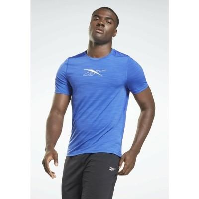 リーボック Tシャツ メンズ トップス ACTIVCHILL - Basic T-shirt - blue