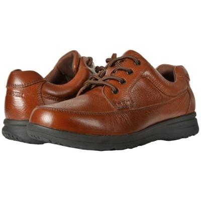 ナンブッシュ Nunn Bush メンズ 革靴・ビジネスシューズ シューズ・靴 Cam Oxford Casual Walking Shoe Cognac Tumbled Leather