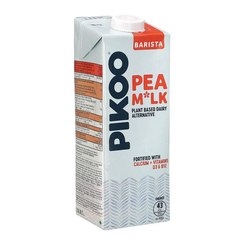[即期品] *買一送一*[PIKOO] 瑞典原裝進口咖啡職人 豌豆奶 (1000ml/瓶) (全素) {效期: 2021-09-16}