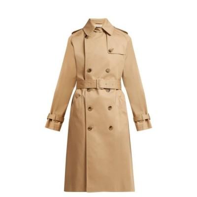 アーペーセー A.P.C. レディース トレンチコート アウター Greta cotton-twill trench coat Beige