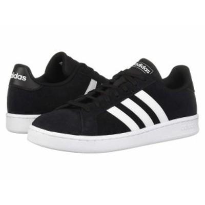 アディダス メンズ スニーカー シューズ Grand Court Core Black/Footwear White/Footwear White
