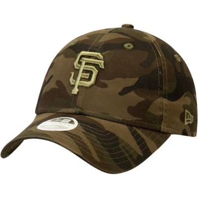 レディース スポーツリーグ メジャーリーグ San Francisco Giants New Era Women's Tonal Camo Core Classic 9TWENTY Adjustable Hat - Cam