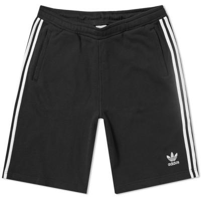 アディダス Adidas メンズ ショートパンツ ボトムス・パンツ 3 Stripe Short Black