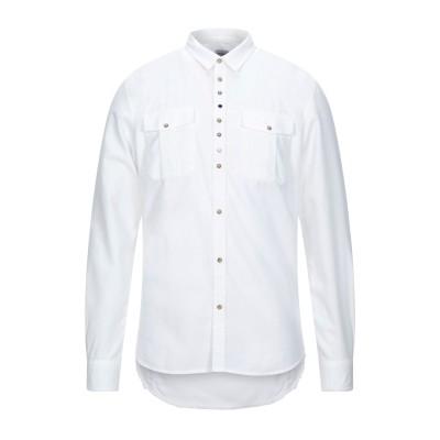 OFFICINA 36 シャツ ホワイト S コットン 100% シャツ