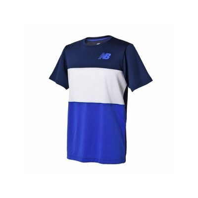 ニューバランス(new balance) 【ポイント15倍】【多少の傷汚れありの為大奉仕】ベーシックカラーブロックゲームTシャツ JMTT8016PGM (メンズ)