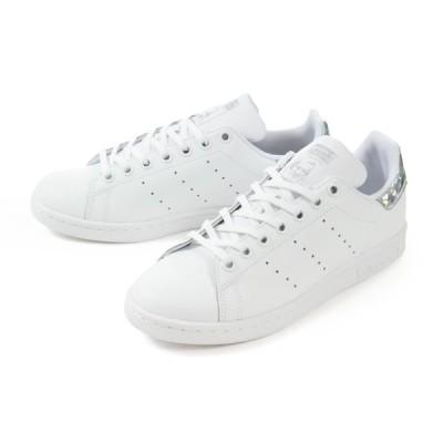 adidas(アディダス) STAN SMITH J(スタンスミス ジュニア) EE8483 ホワイト/ホワイト  SALE