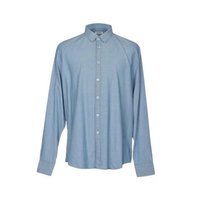 ビッケンバーグ BIKKEMBERGS シャツ スカイブルー XS コットン 100% シャツ