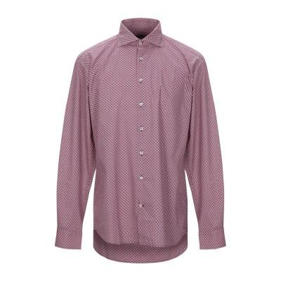 SEVENTY SERGIO TEGON シャツ レッド 43 コットン 100% シャツ