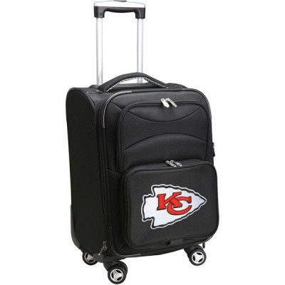 """NFL ユニセックス スーツケース・キャリーバッグ バッグ Mojo 20"""" Spinner Carry On Suitcase Kansas City Chiefs"""