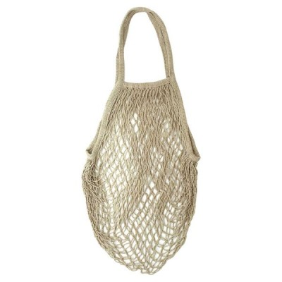 コットンメッシュバッグ(サンド) ネットバッグ エコバッグ あみバッグ 買い物バッグ メッシュバッグ ベージュ