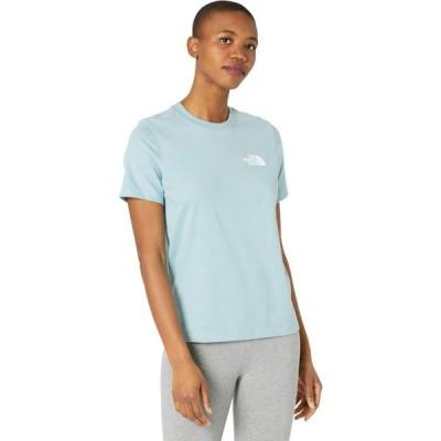 ザ ノースフェイス The North Face レディース Tシャツ トップス Box Nse Short Sleeve Tee Tourmaline Blue