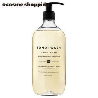 【ポイント10% 10月17日】BONDI WASH(ボンダイウォッシュ) ハンドウォッシュ(本体 シドニーペパーミント&ローズマリー) ハンドソープ