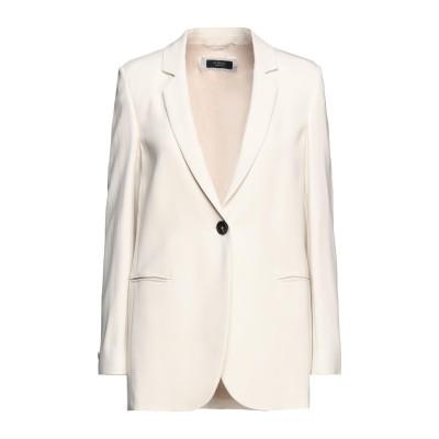 ペゼリコ PESERICO テーラードジャケット ベージュ 44 レーヨン 96% / ポリウレタン 4% テーラードジャケット