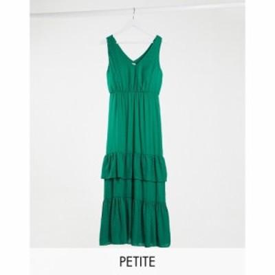 ヴィラ Vila Petite レディース ワンピース ティアードドレス ティアードスカート ワンピース・ドレス maxi dress with tiered skirt in