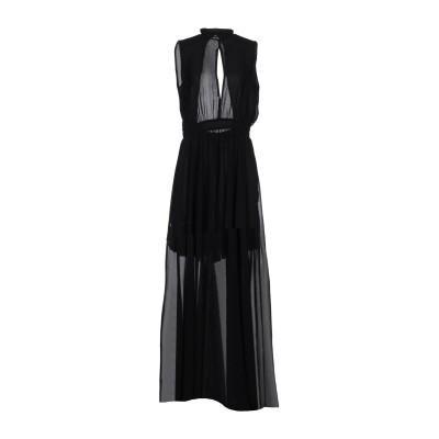 LADY CHOCOPIE ロングワンピース&ドレス ブラック S 100% ポリエステル ロングワンピース&ドレス