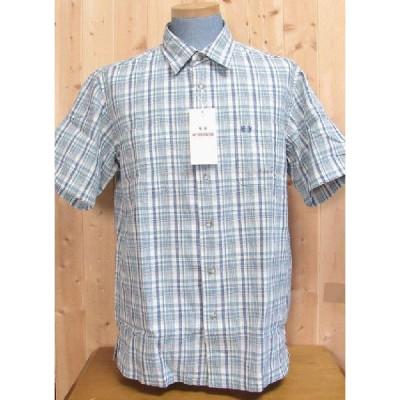 マグレガーの半袖シャツ 16-8121a チェック