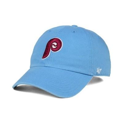 47ブランド 帽子 アクセサリー メンズ Philadelphia Phillies Core Clean Up Cap LightBlue